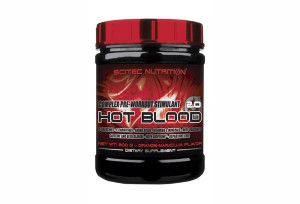 SCITEC - Hot Blood 2.0 - 300 g
