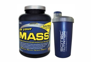 MHP - Up Your Mass + ORYGINALNY SHAKER 0,7 L - 2270 g + 1 szt.