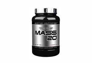 SCITEC - MASS 20 - 4000 g - Chocolate