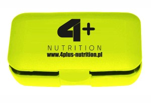 4+ NUTRITION - Pill Box - 4 Sport Nutrition