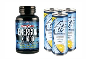 ACTIVLAB - Energon X 1000 + FIT DRINK - 90 kaps. + 3x250 ml